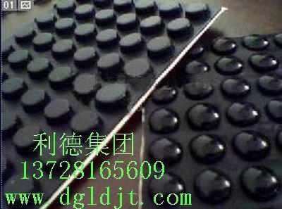 供应黑色橡胶垫-绝缘橡胶垫-橡胶垫脚