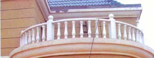 葫芦瓶栏杆图片