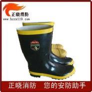 消防靴/消防鞋/消防防护/战斗/靴/图片