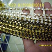 水钻服饰扣B钻爪链图片