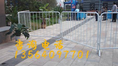 供应活动栅栏出租移动栅栏出租2米铁马出租活动脚铁马租赁移动栅栏