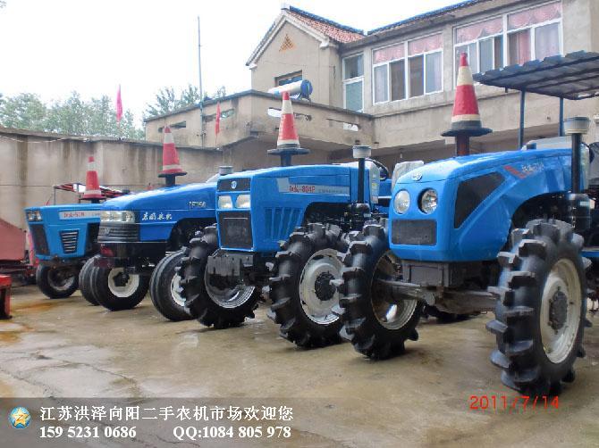 拖拉机样板图 2011年江苏清江804拖拉机 江苏向阳二手农机交高清图片