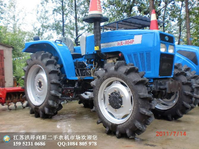 拖拉机 拖拉机供货商 供应2011年江苏清江804拖拉机 高清图片