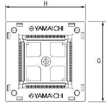 供应IC248-0444-001Yamaichi测试座,IC插座