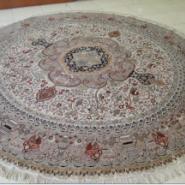 天津真丝地毯生产图片