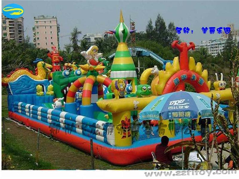 供应充气城堡大型充气玩具充气儿童蹦床大型充气蹦床