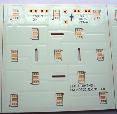 供应单面LED线路板-94HB单面线路板-双面白油电路板