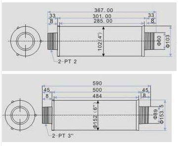 风机消声器图片/风机消声器样板图 (2)