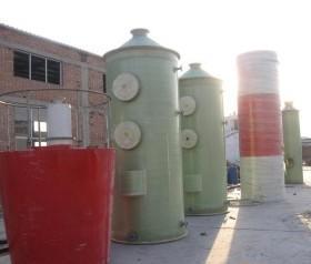 供应双碱法烟气脱硫塔-玻璃钢脱硫塔如何克服石灰石