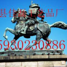 铸铜骑马武士欧式人物雕塑铜雕马图片
