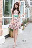 回收时装裙尾货图片