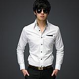 供应回收长袖衬衫