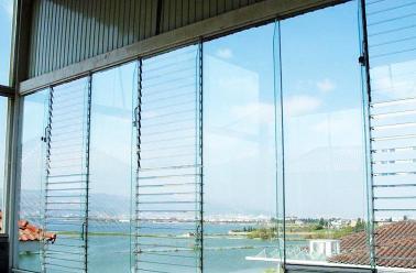 安徽电动玻璃百叶窗图片图片