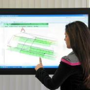教学用液晶触摸电视电脑一体机图片