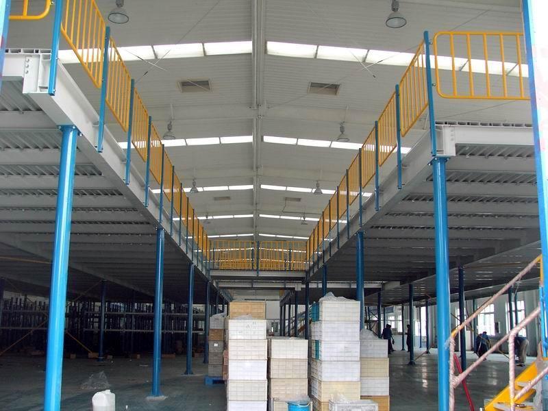 钢平台钢结构平台货架钢阁楼平台