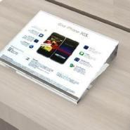 热销亚克力传感+标签展示架图片