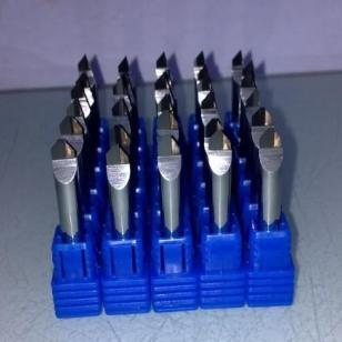 90度PCD金刚石手机镜片切割刀具图片