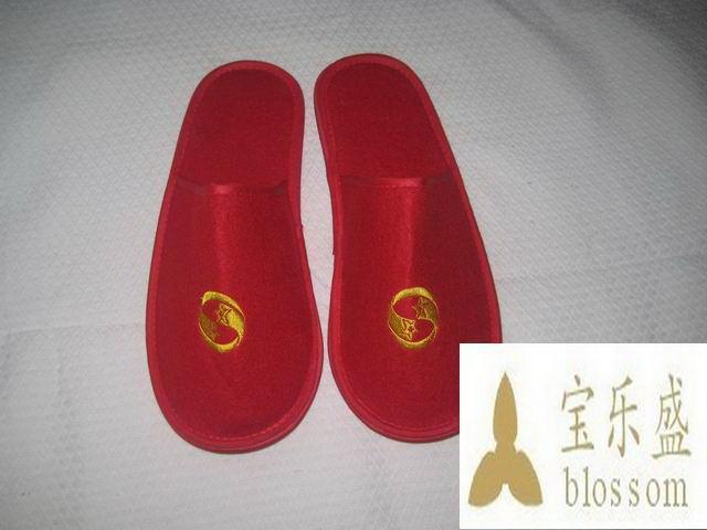拖鞋图片|拖鞋样板图|酒店割绒拖鞋-扬州宝乐盛旅游