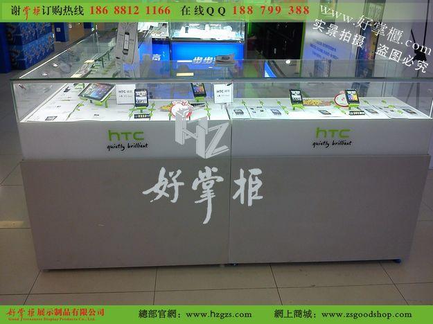 HTC智能手机柜台惊艳2012 -一呼百应资讯频道