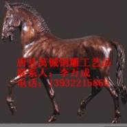 河北园林骑士雕塑图片