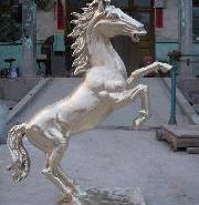 唐县园林骑士雕塑图片