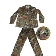 大树叶隐蔽伪装套服批发迷彩套服图片