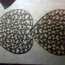 供应激光木板刀刀模拼图