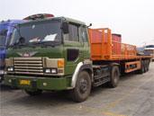 长沙钢材运输图片