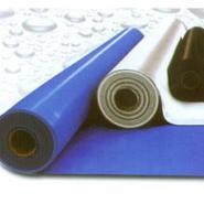 供应夹筋PVC防水卷材彩色双面夹筋PVC防水卷材