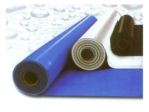 双面夹筋PVC防水卷材图片