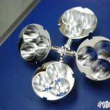 供应反光杯LED配件塑胶电镀