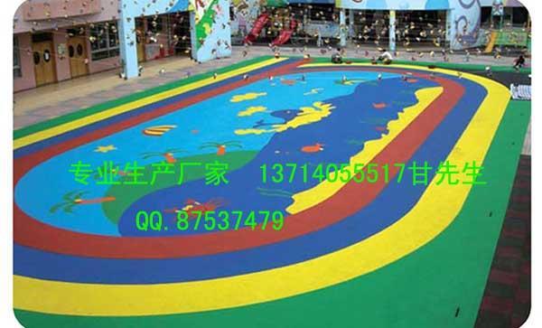 供应深圳惠州幼儿园EPDM地垫室内外安全地垫橡胶地板质优服务好
