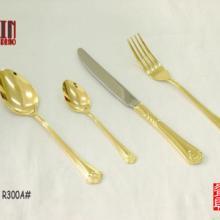 供应不锈钢镀金刀叉,镀银西餐刀叉勺,镀金银不锈钢西餐刀叉匙餐具。批发