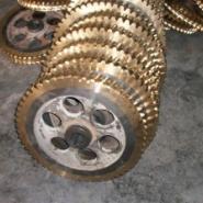 齿轮箱用蜗轮蜗杆加工图片