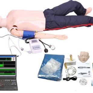 心肺复苏与血压测量功能急救模拟人图片
