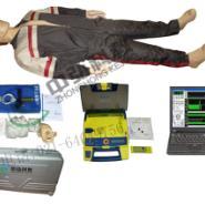 电脑心肺复苏AED除颤模拟人图片