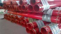 天津市大邱庄环氧树脂粉末钢管图片