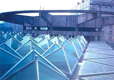 供应广州玻璃采光顶安装工程