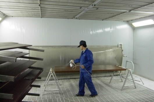 无尘喷漆房烤漆房晾干房样板图