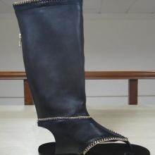 广州鞋厂来样订做批发欧美时装高跟外贸鞋批发