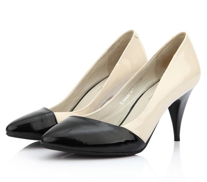 广州利强鞋厂生产供应真皮女鞋来样来图片订做批发