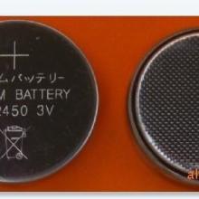 供应纽扣电池三洋SANYO CR2450 3V 纽扣电池