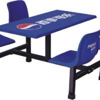 供应珠海斗门快餐桌斗门食堂餐桌椅英腾家具专业生产免费安装送货