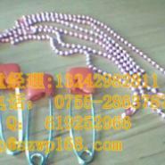 供应广东东莞别针生产厂家生产1.2圆珠链了.圆珠.间珠.旦间珠