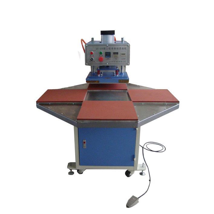 全自动四工位烫画机压烫机图片