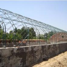 供应矩形钢塑覆膜温室大棚骨架机安阳裕农农业科技有限公司图片