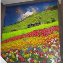 供应 成都彩绘壁画销售