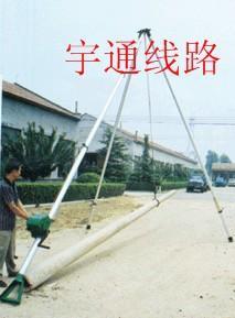供应水泥电杆立杆机电力通信架空线路立杆机