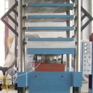 200吨硫化机200吨全自动平板硫化机图片