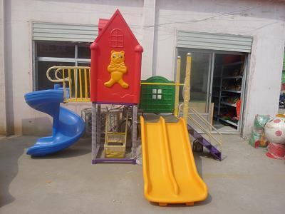 山东哪里卖大型滑梯幼儿塑料滑梯销售